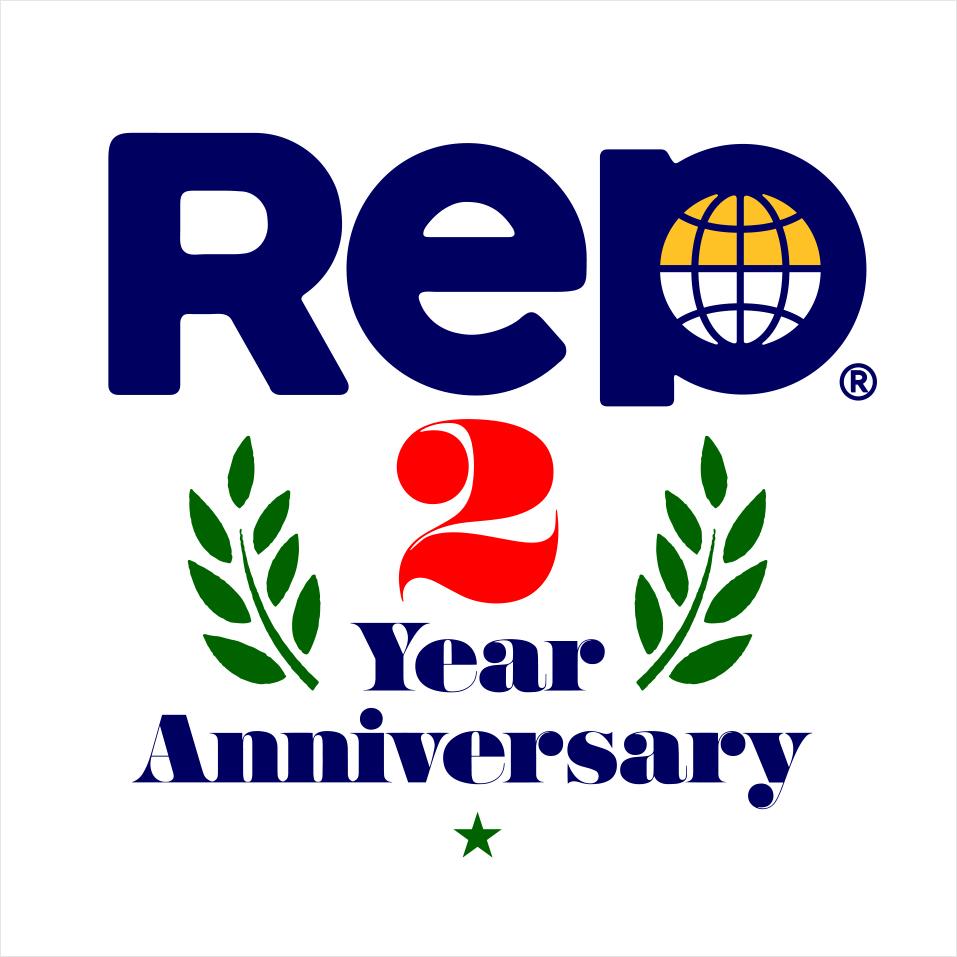 Rep 2 Year Anniversary